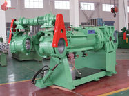 Hardened gear box Strainer Extruder Rubber Processing Machine , Filter Making Machines