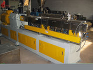 PLC Co - rotating Plastic Extruder Machine Alloy Twin Screw of modular