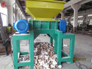 Tire Twin Shaft automatic Plastic Shredding Machine for waste plastics