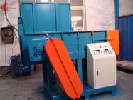 Single shaft And Twin Shaft plastic shredder machine , film recycling machine