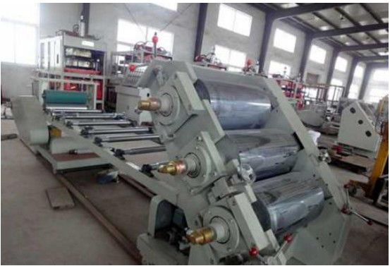 Low Invest High Profitability PVC Calender Machine Four Roll Rubber Calender