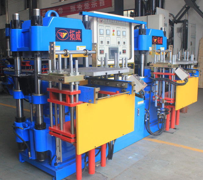 200 Tons Rubber Injection Moulding Machine Excellent Electric Heat Pipe Platform
