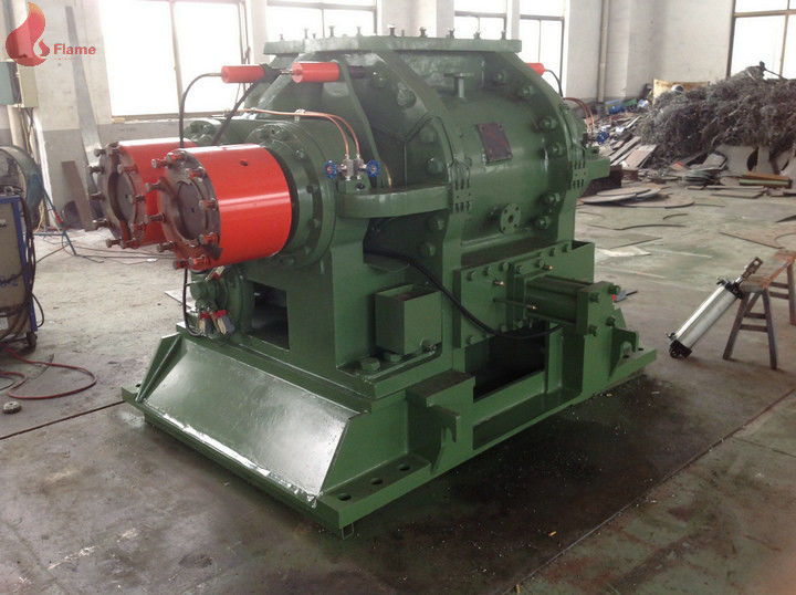 Air pressure type 220kw 100L Falling Type Internal Mixer / Artificial Leather Plastic Banbury Mixer
