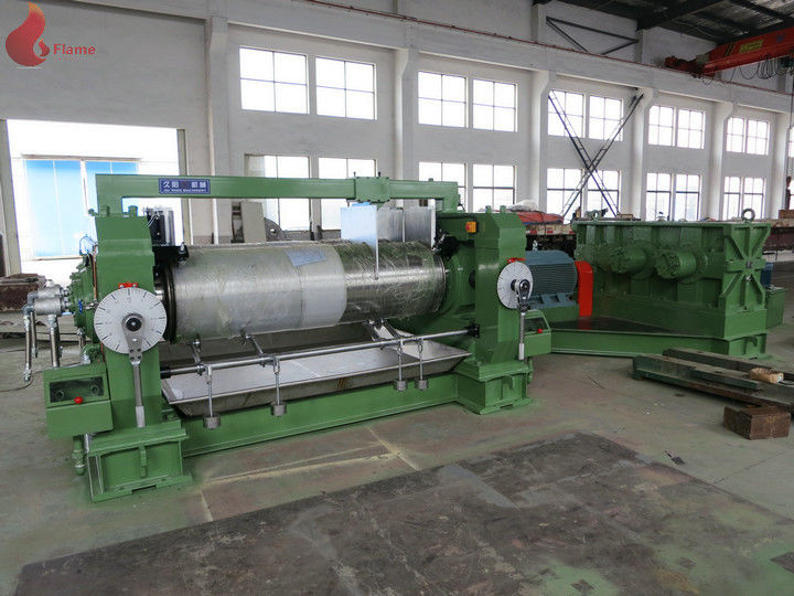 50HZ Electric PVC Open Mill / Industrial Mixing mill Equipment