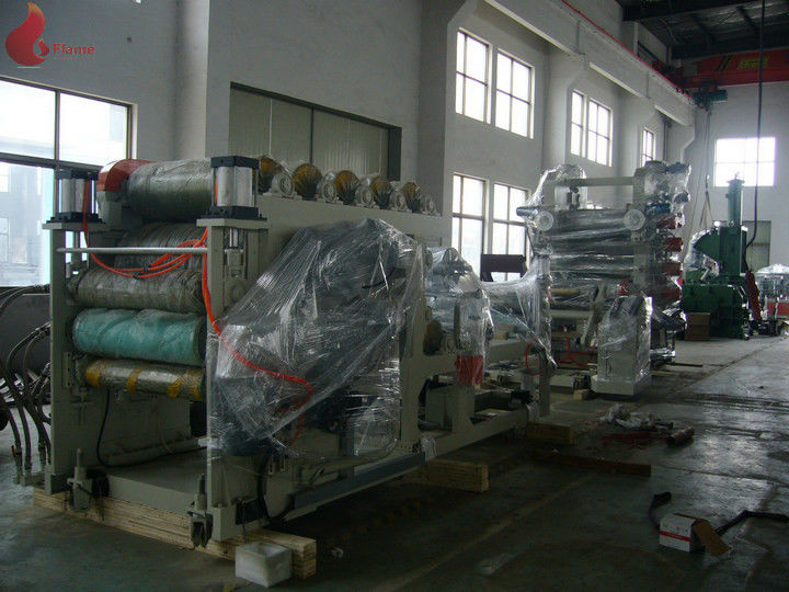 800 - 1000 Kg/H Calender Machine For Pvc Film Manufacturing Process