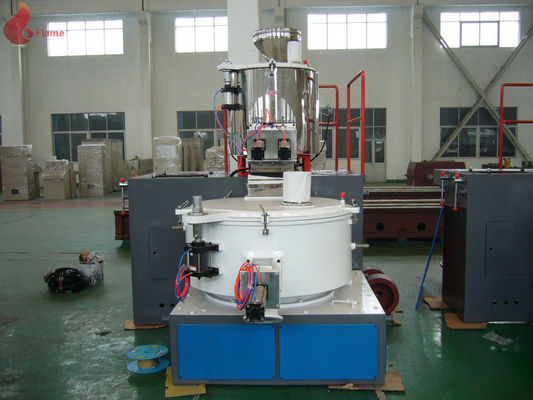Self - Friction Vertical high speed dispersion mixer Electric heating For Plastics Mixing
