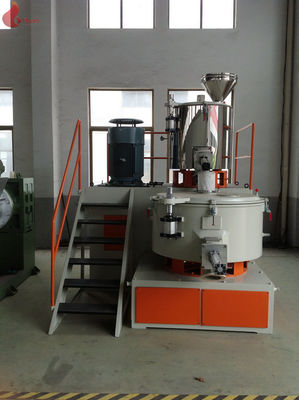 Water Cooling High Speed pvc mixer machine , 304 Stainless Vertical Mixer Unit