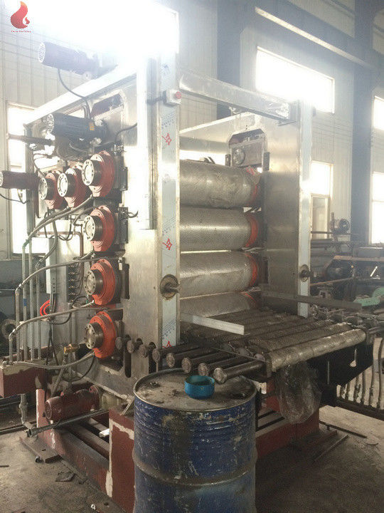 ABB motor CPU contorl Oil heating Six Roll PVC Calender Machine for Calender Production Line