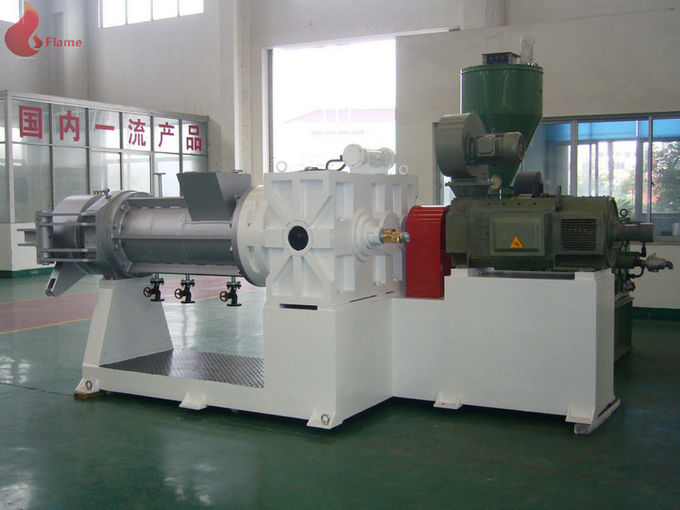 High Speed Gelled Rubber Strainer Machine With Jacketed Barre , Rubber Strainer Machine