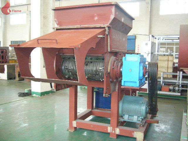 45KW Industrial Plastic Shredding Machine PLC , plastic recycling machines