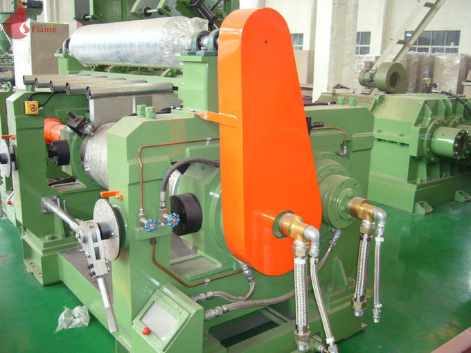 30kg / time Electric Two Rollers Mixing Mill for Plastic and Rubber