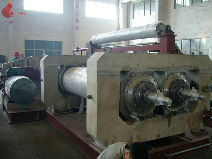 50HZ 380V Rubber Open Mill / Two Roll Mixing Mill , Φ560x1530mm