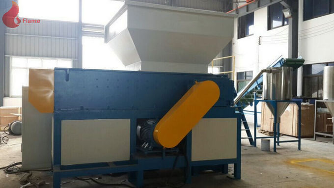 SKD Single shaft Plastic Shredding Machine For Large Plastic, Rubber And Wood